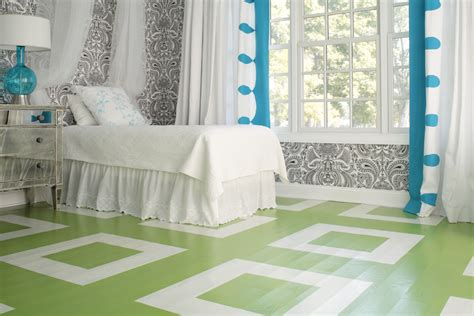 20 painted floors with modern style friday finds painted floors hirshfield s color club