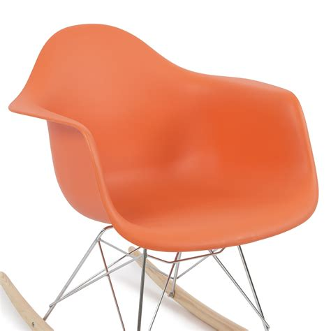 rocker armchair retro dsw eames style modern arm chair rar rocker rocking