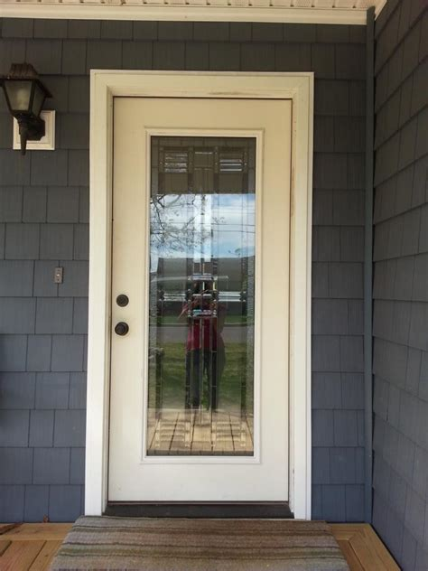 white wood frame glass front door colors for grey house wooden floor advice for your home