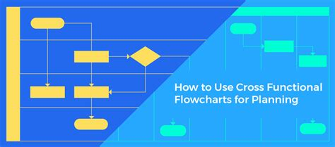 how to use flowchart how to use cross functional flowcharts for planning