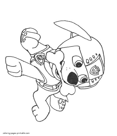 paw patrol lookout coloring pages free coloring pages of paw patrol for kids
