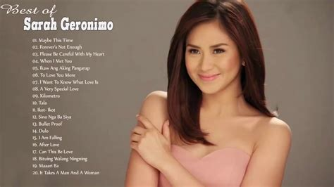 watch sarah geronimos i love you message for matteo sarah geronimo nonstop songs 2018 best opm tagalog love