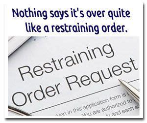 Does A Restraining Order Go On Your Criminal Record Best 25 Restraining Order Ideas On You Are