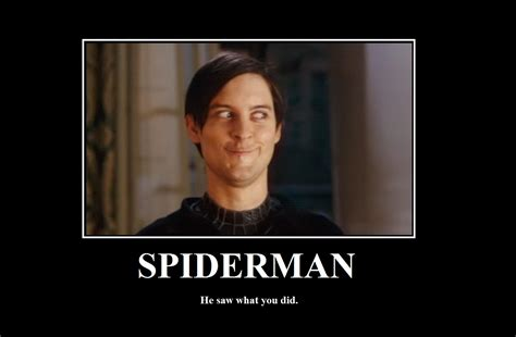 Tobey Meme - tobey maguire s funny face in spider man 3 became a