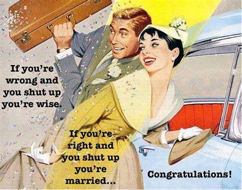 Wedding Congratulations Retro wedding congratulations card humorous retro vintage