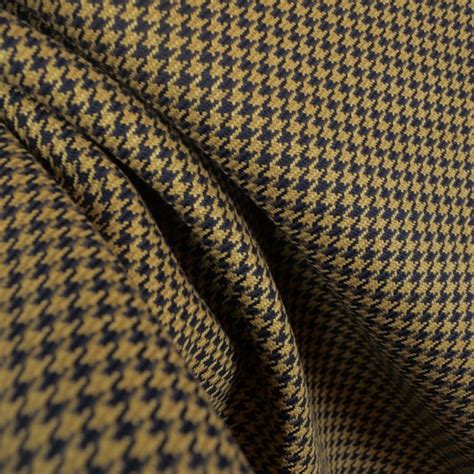 houndstooth black upholstery fabric