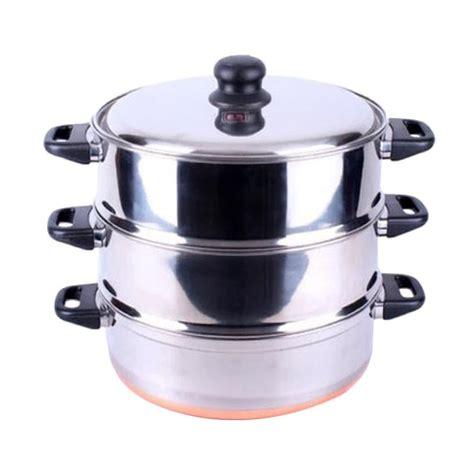 Panci Langseng Maspion jual maspion langseng orozeta 33 susun 3 peralatan memasak
