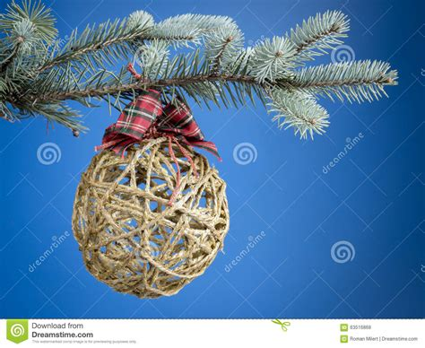 ecological christmas ecological decoration stock photo image 63516868