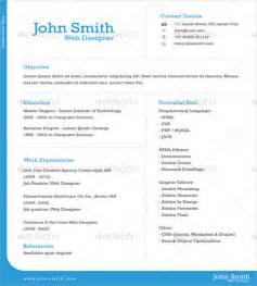 Free Template One Page by 41 One Page Resume Templates Free Sles Exles