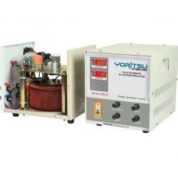 Yoritsu Mdi 30 daftar harga yoritsu servo stabilizer 1 3 phase diskon