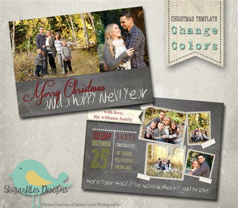 family cards template card photoshop template family card