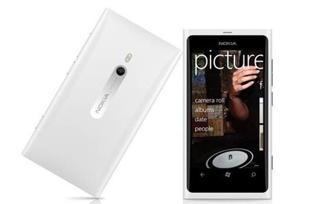 Nokia Lumia Feb nokia lumia 800 white version to hit in february