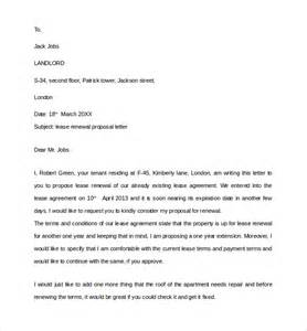 lease agreement letter 1
