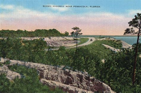 scenic highways scenic highway 1930s or 1940s pensacola scenic bluffs