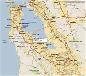 foster city california map 臨行須知及注意事項