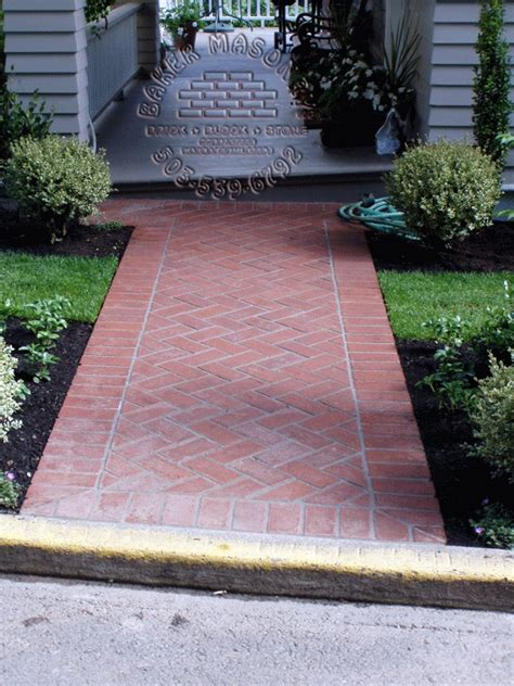 Design Ideas For Brick Walkways Brick Walkway Brick Walkways Pinterest