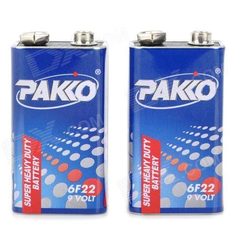 Best Battery Type 6f22 9v Baterai Kotak 9 Volt Block Heavy Duty pakko 250mah 9v 6f22 battery blue white 2 pcs