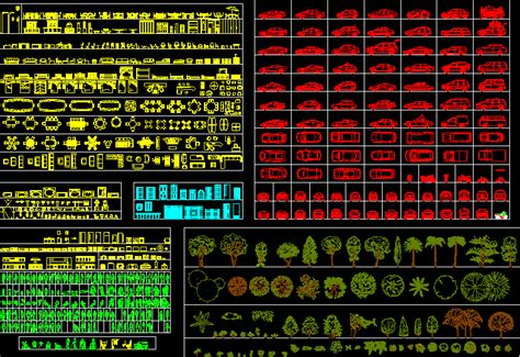 autocad templates free dwg blocks various in autocad drawing bibliocad