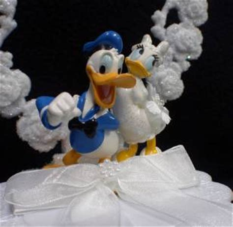 Topper Cake Donal Duck Cake Topper Donal Bebek Hiasan Kue Lucu donald duck disney lot wedding cake topper knife server glasses book pen ebay