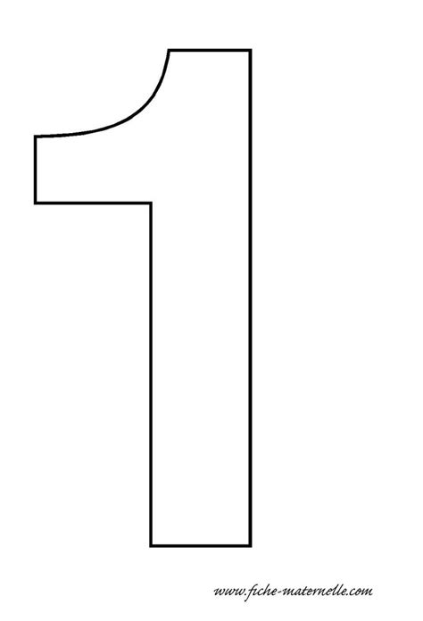 number template 1 images