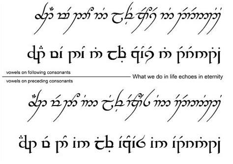 tattoo font elvish elvish tattoo lord of the rings the hobbit pinterest