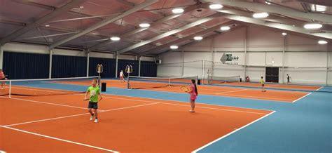 illuminazione co da tennis luce led per lo sport per il circolo tennistico tc