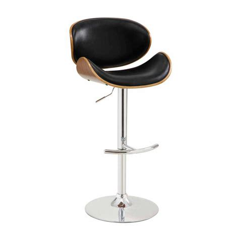 furniture black lacquer iron adjustable height swivel