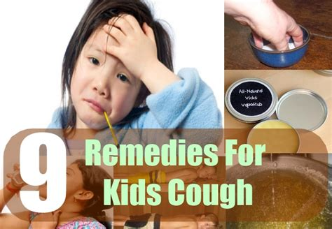 9 home remedies for cough treatments cure