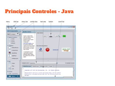 interface swing java introdu 231 227 o ao swing interface