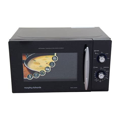 pc richards kitchen appliances buy morphy richards mwo 20 ms 20 litre microwave oven