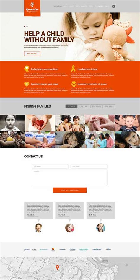 best templates for ngo website 50 best ngo charity website templates free premium