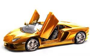 Solid Gold Lamborghini Solid Gold Lamborghini Aventador 1 8 Scale Model