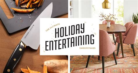 Holiday Entertaining Sweepstakes - america s test kitchen ultimate holiday entertaining sweepstakes
