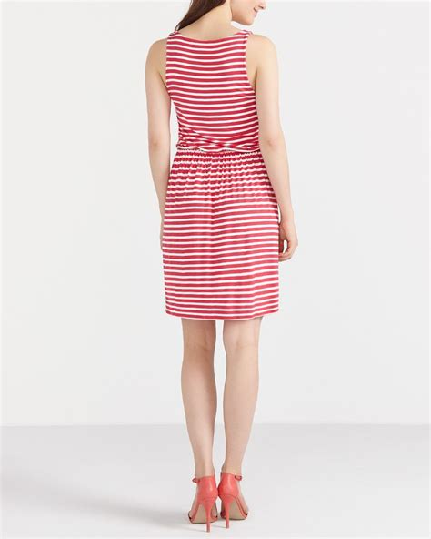 Striped Sundress striped sundress reitmans