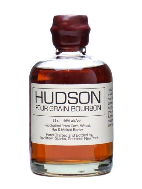 Handcrafted Bourbon - hudson four grain bourbon tuthilltown distillery the
