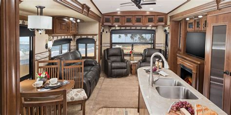 2013 rushmore 39ln lincoln front living room five slide front living room fifth wheel rv and wheels images savwi
