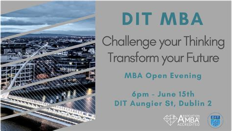 Dit Mba newsdit college of business