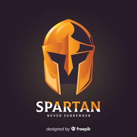 casco espartano clasico  estilo de degradado