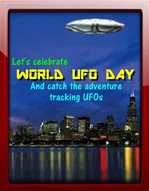 Come Celebrate World UFO Day! Free World UFO Day eCards