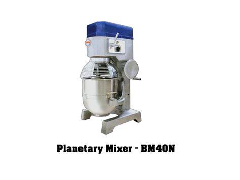 berjaya planetary mixer bm40n excel refrigeration