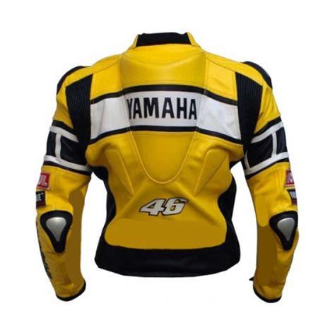 Yamaha Motorradjacke by Yamaha Yellow Biker Leather Jacket For S