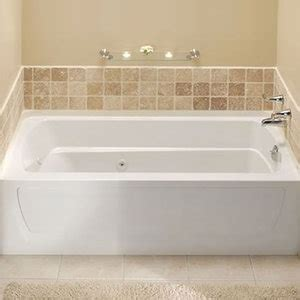 Sterling Bathtubs by S761211200 Ensemble 60 X 32 Whirlpool Bath White At