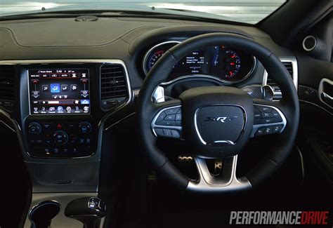 srt jeep inside 2014 jeep grand cherokee srt review video performancedrive