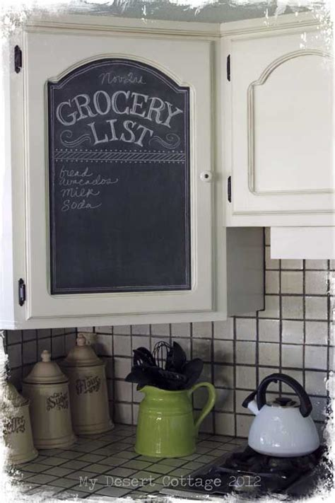Chalkboard Paint Ideas Kitchen 25 Best Ideas About Cabinet Door Makeover On Pinterest Kitchen Cabinet Makeovers Shaker