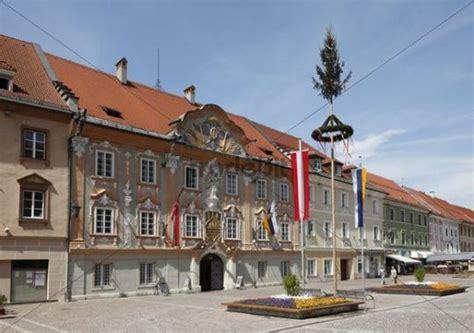 haus fassaden 3957 barockfassade rathaus maibaum hauptplatz in st veit