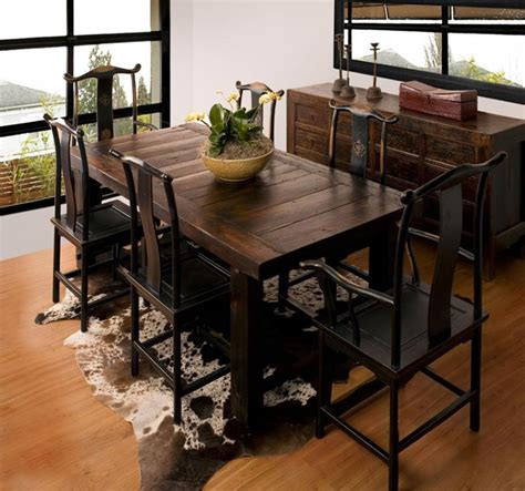 rustic dining room tables 24 totally inviting rustic dining room designs page 4 of 5