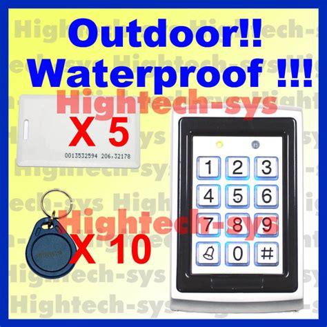 Tag Koperluggage Bag Card Heli 1 Waterproof Vandal Resistant Rfid Proximity Metal Keypad