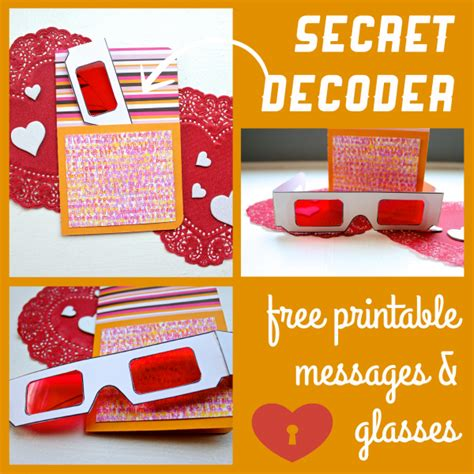 decoder card template diy secret decoder cards made by marzipan