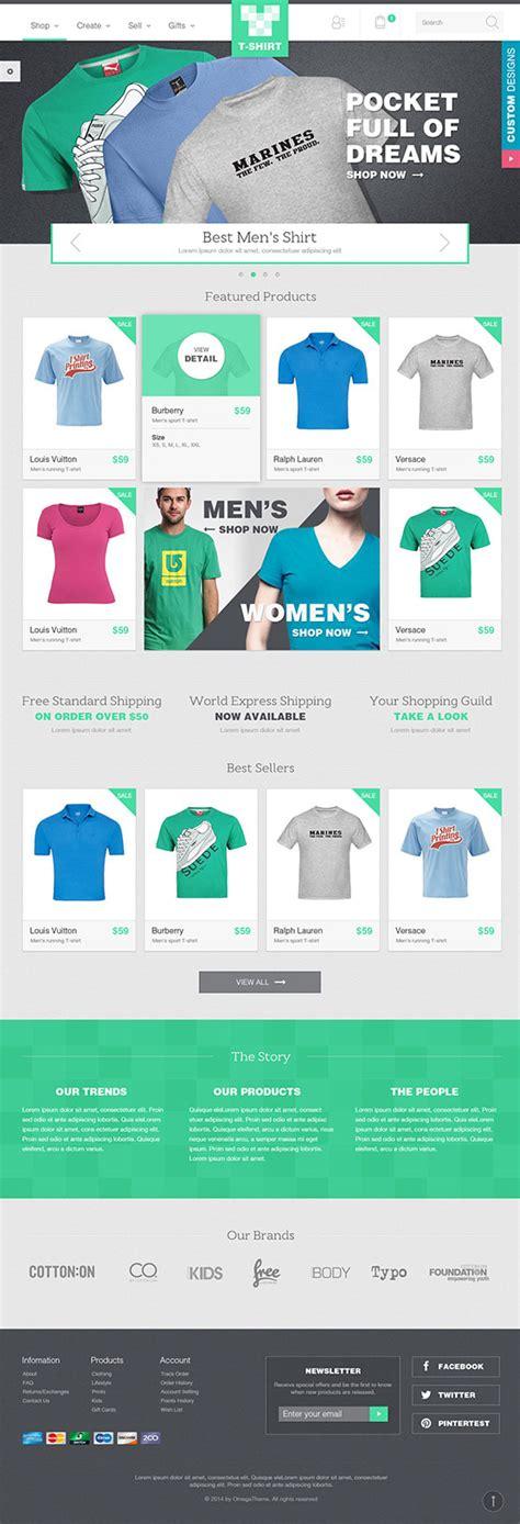 joomla themes store ot tshirt responsive fashion store joomla template