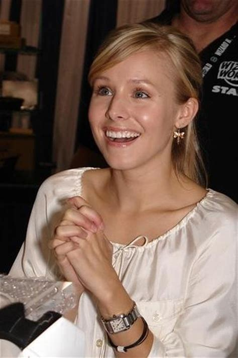 Kristen Bell Wears A by Pin By On Watches